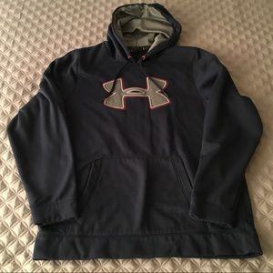 Under Armour navy blue active hoodie